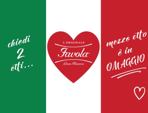 Promozione #cisiamo Mortadella Favola