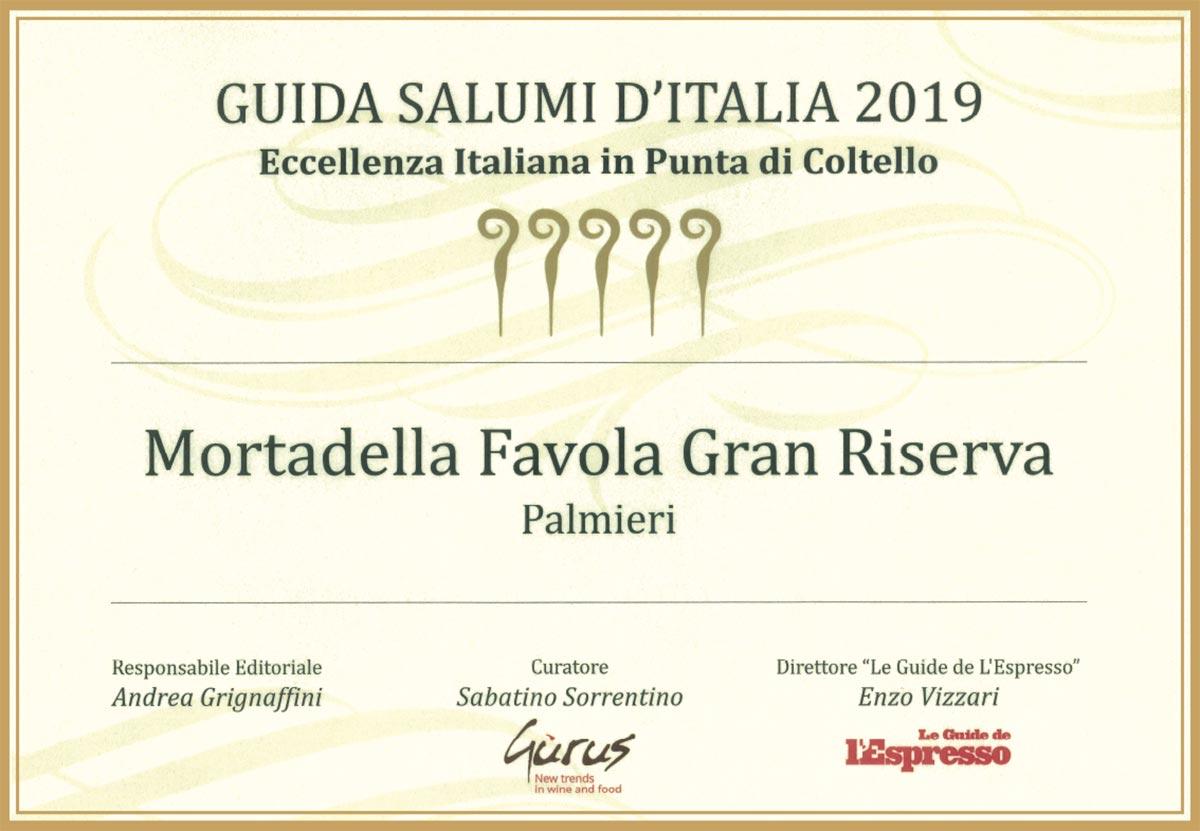 mortadella favola miglior salume italia 2019