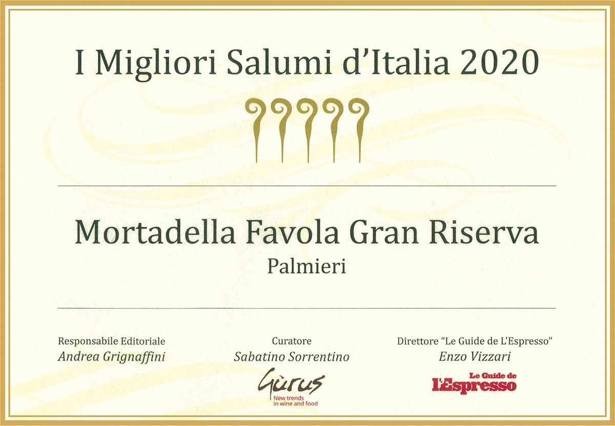 miglior salume italia mortadella favola 2020